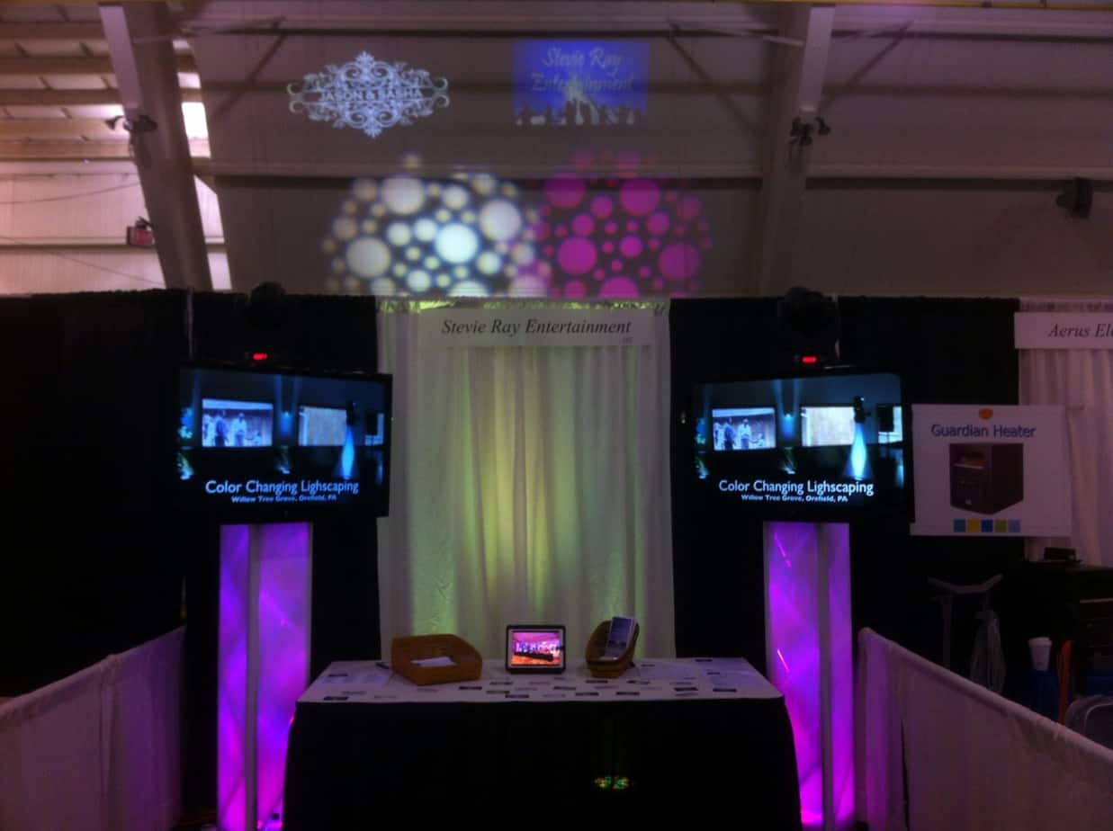 Stevie Ray Entertainment Bridal Expo Booth Stevie Ray