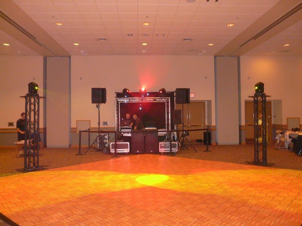 Dieruff High School Prom Setup