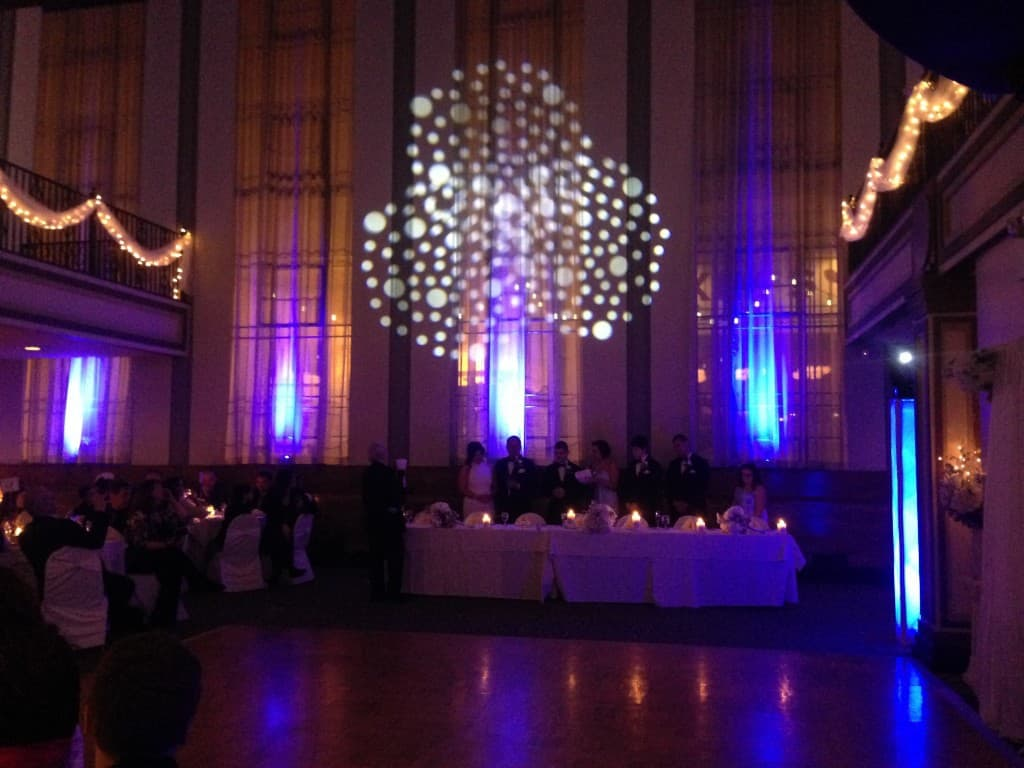 Bank Street Annex Wedding Lighting 2/1/14