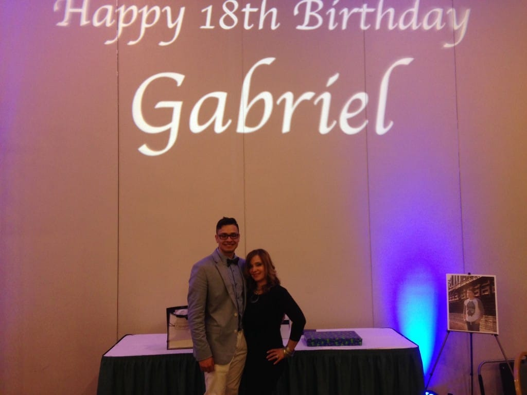 Gabriel's 18th Birthday 3/22/14