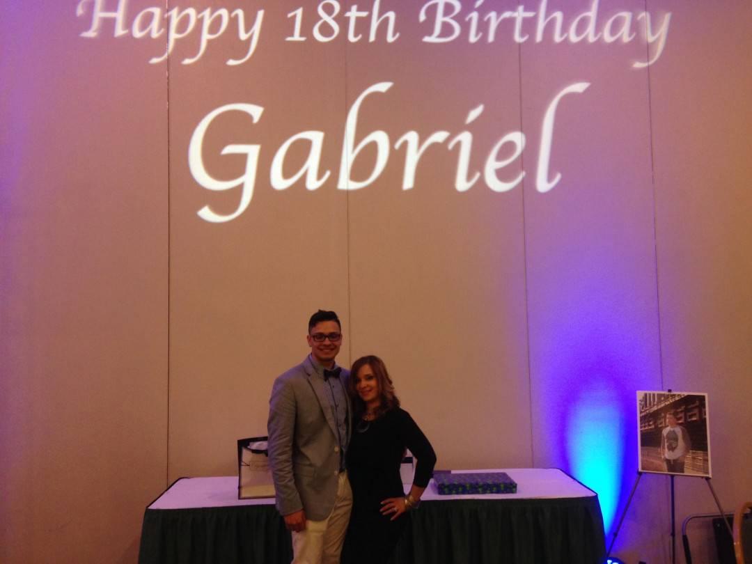 Gabriel's 18th Birthday 3/22/14