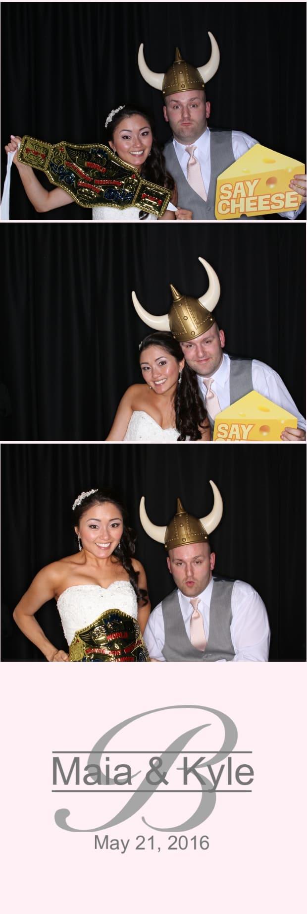 Kyle & Maia's Wedding 5/21/16