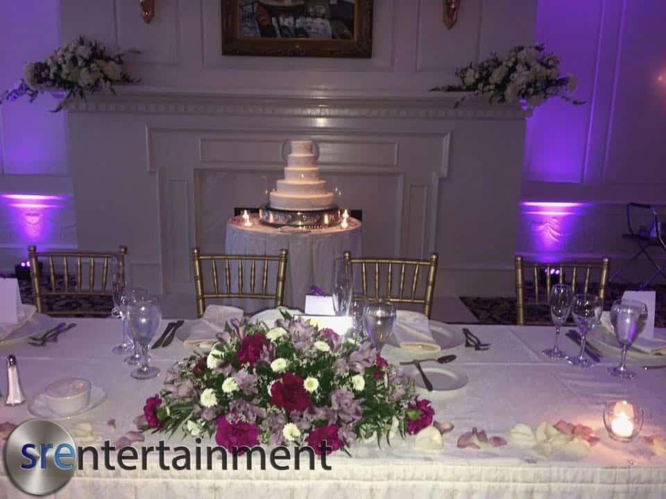 Wedding Uplighting 4/28/17